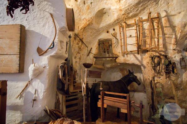 In den Sassi di Matera wohnten Mensch und Tier gemeinsam