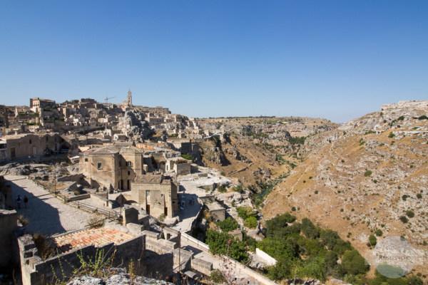 Matera ist eine der ältesten Städte der Welt, die Vergangenheit kann man hier erkunden