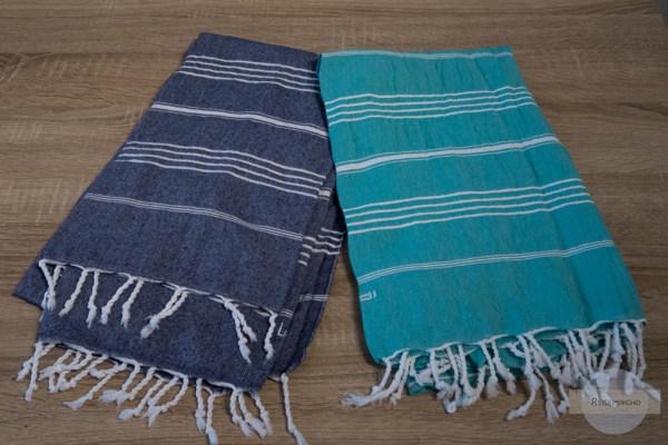 Le Stoff Handtuch - ein Muss im Reisegepäck