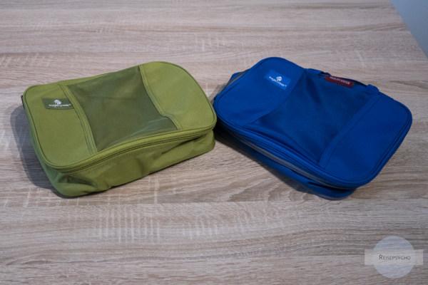Packwürfel - ein Muss im Reisegepäck
