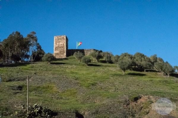 Burgruine in Aljezur an der Algarve