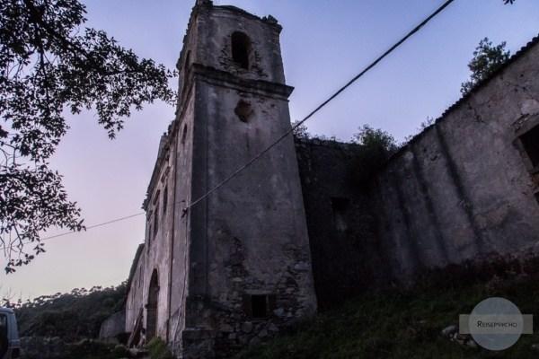 Ruine einer Kirche in Monchique
