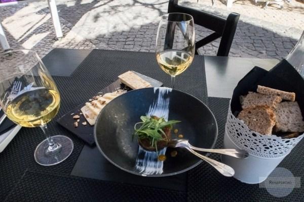 Mittagessen in Portugal