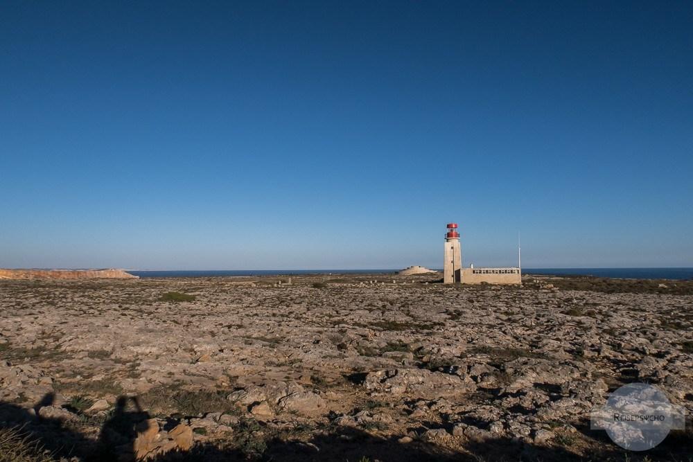 Leuchtturm bei der Fortaleza de Sagres