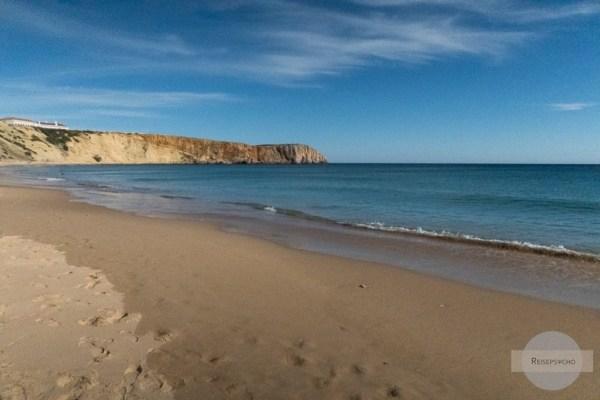 Praia da Mareta in Sagres