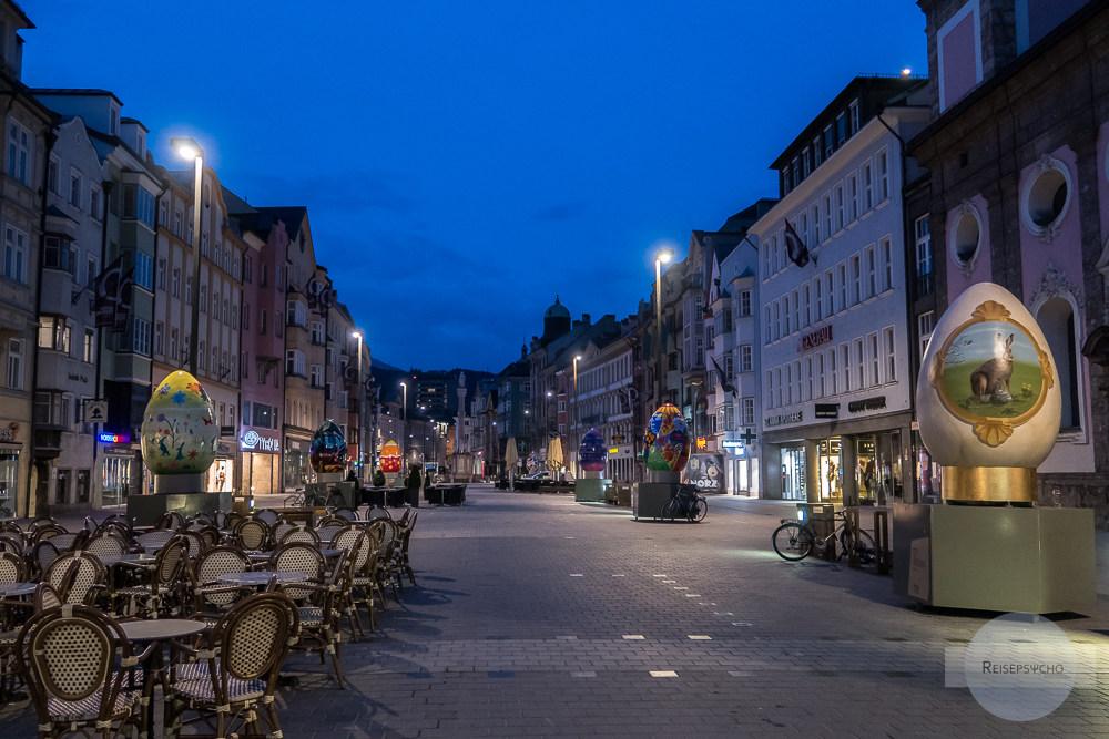 Innsbruck in der Morgendämmerung