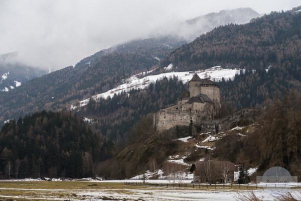 Die Burg Reifenstein in der Nähe von Sterzing
