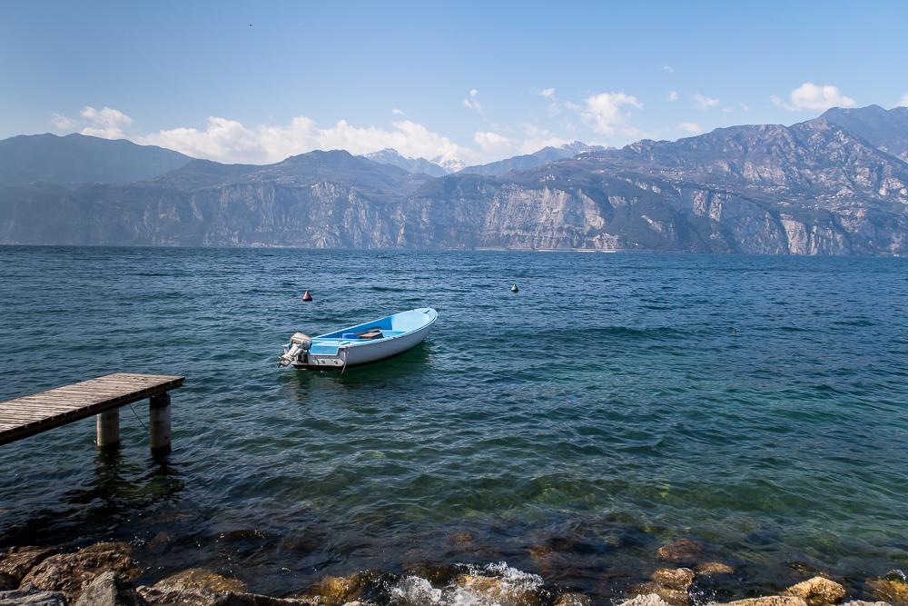 Goethes italienische Reise führte mich auch an den Gardasee