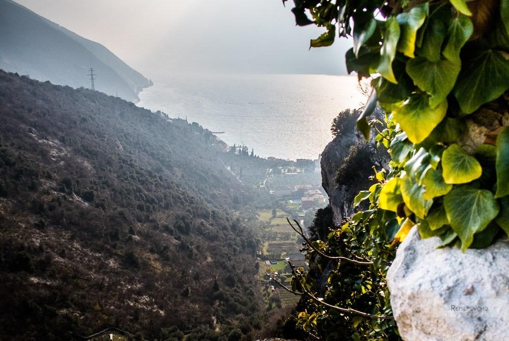 Valle di Santa Lucia in Torbole – historisch wandern am Gardasee