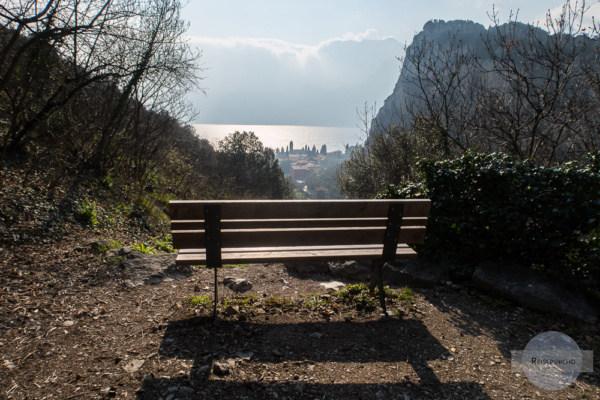Rastplatz im Valle di Santa Lucia zwischen Nago und Torbole