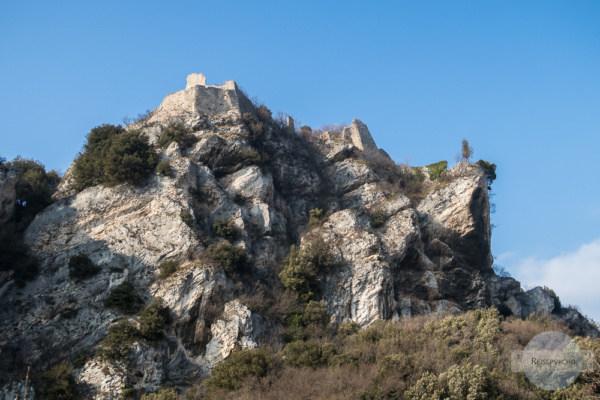 Das Castel Penede in Nago-Torbole am Gardasee