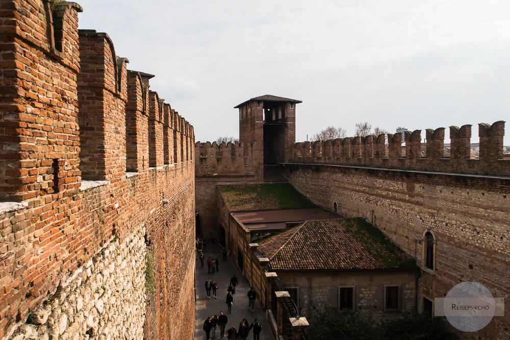 Das Castelvecchio in Verona
