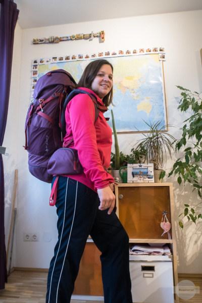 Mit meinem Rucksack auf Goethes Spuren unterwegs - ein Abenteuer durch Italien