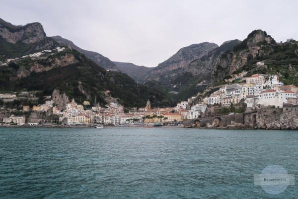 Amalfi vom Boot / Amalfiküste