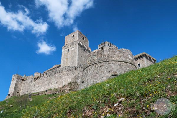 Die Rocca Maggiore - der höchste Punkt in Assisi