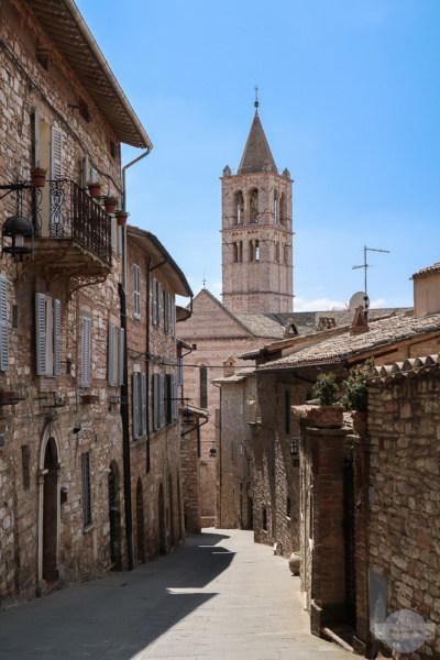 Gassen von Assisi