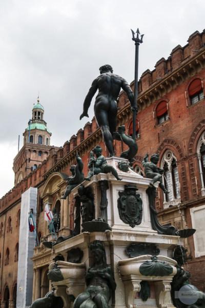 Neptun Statue Bologna