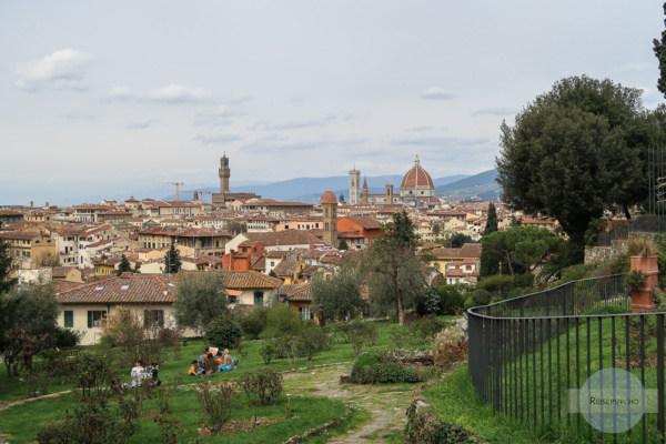 Rosengarten in Florenz