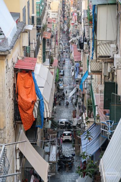 Gassen von Neapel