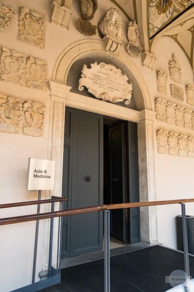Universität Padua mit dem anatomischen Theater