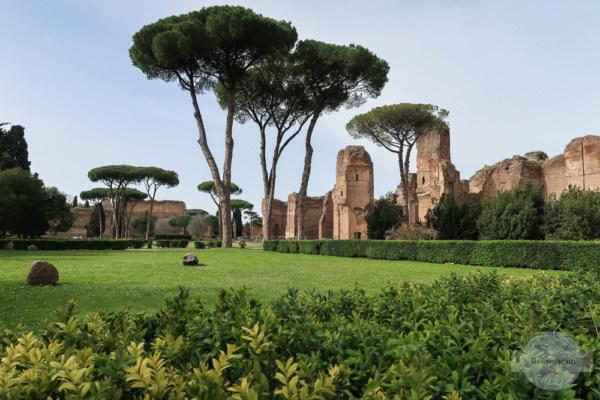 Caracalla - Therme in Rom, der Weg von Venedig nach Rom hat sich ausgezahlt
