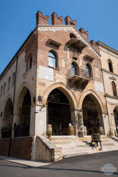 Sehr gutes Restaurant in Soave - die Enoteca Il Drago