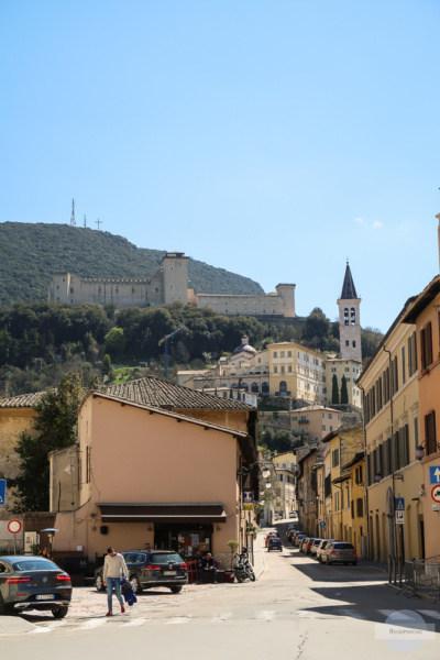 Dom und Castello in Spoleto