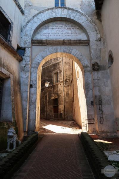Alte Gasse in Spoleto