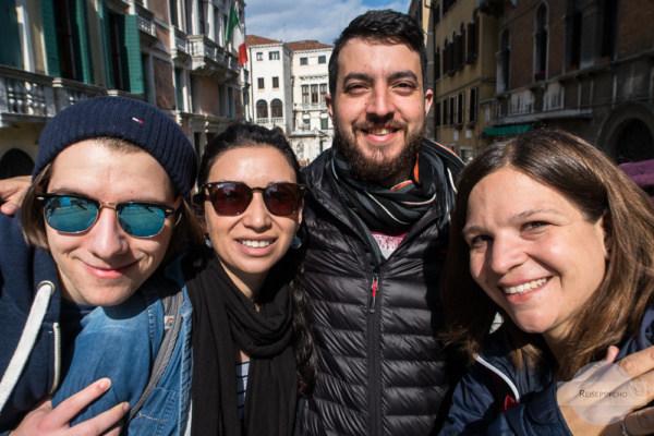 Selfie in Venedig