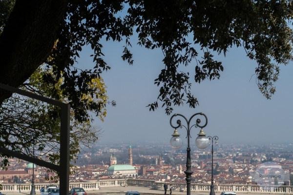 Blick auf Vicenza vom Monte Berico