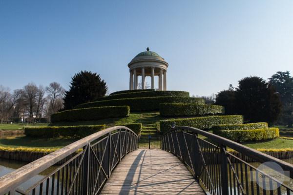 Pavillon im Parco Querini in Vicenza