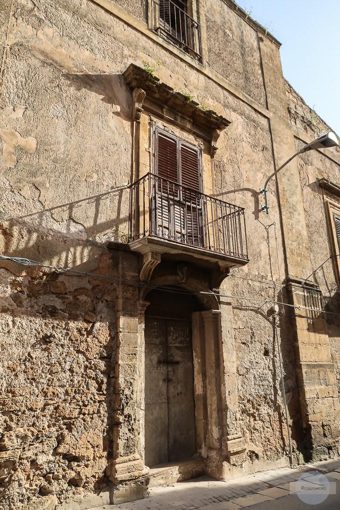 Altes Haus in Castelvetrano