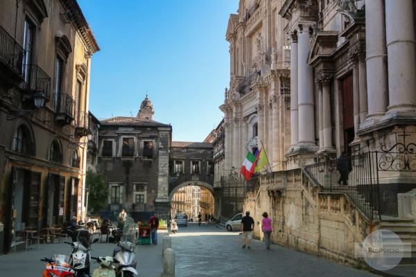 Die Gassen von Catania