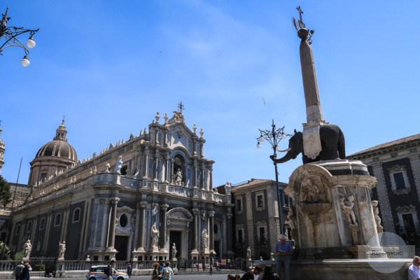 Die Kathedrale und der Elefant - das Zentrum von Catania