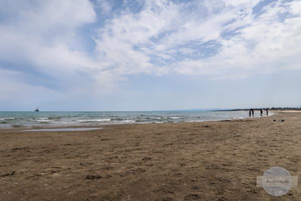 Strand von Catania
