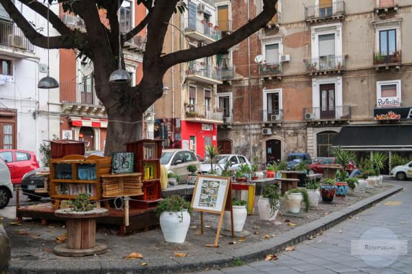 Piazza Federico di Svevia in Catania