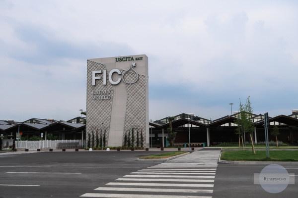 Die Halle des Fico Eataly World