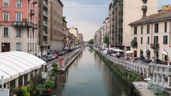 Naviglio in Mailand