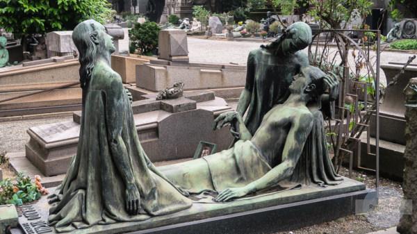 Friedhof der Monumente in Mailand