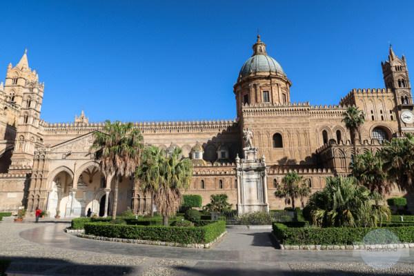 Die wunderschöne Kathedrale von Palermo