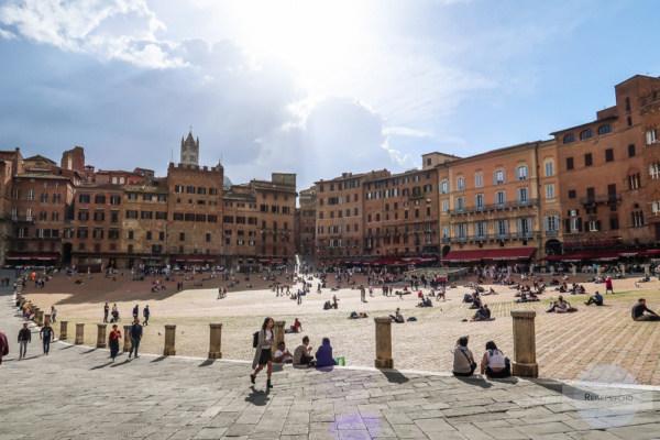 Piazza di Campo in Siena
