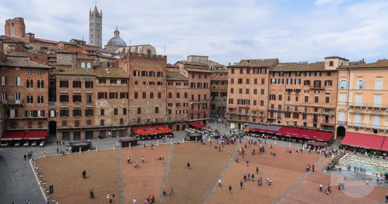 Die Piazza die Campo in Siena
