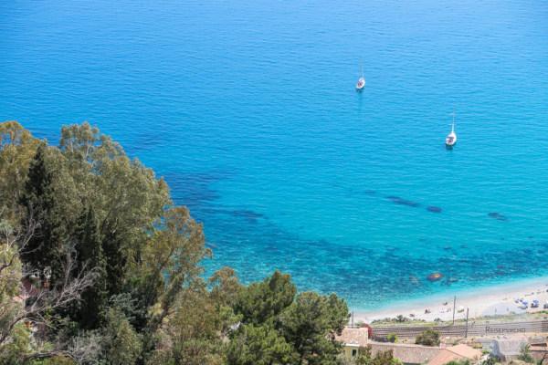 Meer in Taormina