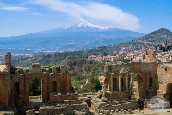römisches Theater in Taormina