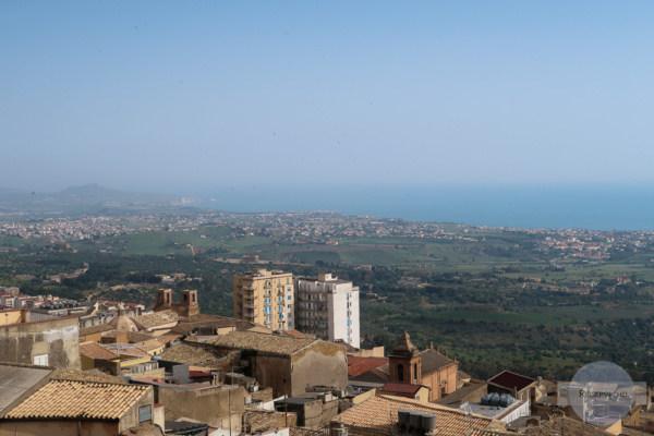 Die Aussicht vom Kirchturm der Kathedrale San Gerlando