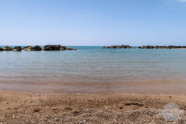 Mein Platz für einige Stunden am Strand von San Leone
