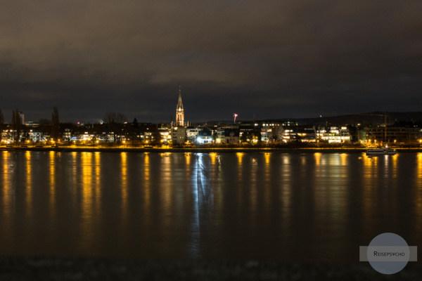Silvester am Rhein