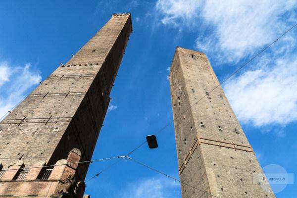 Bologna Turm Torre dei Asinelli und Garisenda