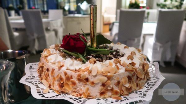 Torte im Hotel Annelies
