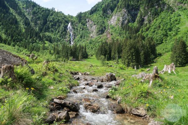 Steirischer Bodensee Wasserfall